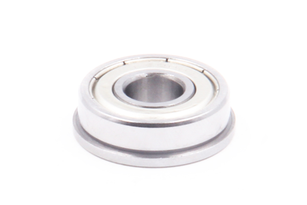 10Pcs High Precision Ball Bearing Premium Bearing Steel Miniature Flange Ball Bearing Flanged Bearing F684ZZ